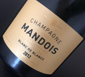 Gastromand x Champagne: 2012 Mandois Blanc de Blancs - Blonde, Bad & Beautiful