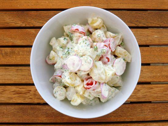 Hjemmelavet kartoffelsalat - den eneste opskrift du behøver