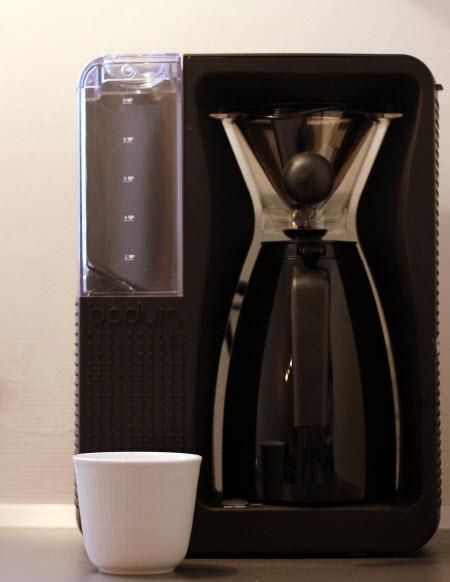 Weekendtesten: Ny Bodum Pour Over kaffemaskine skuffer