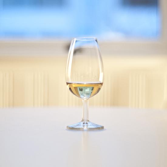Tulipanformet glas