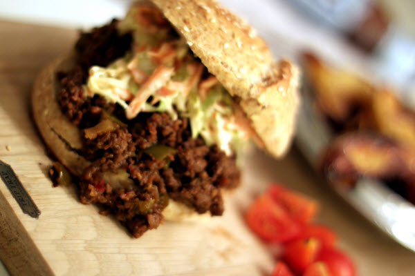 Junk Food Deluxe: Sloppy Joes