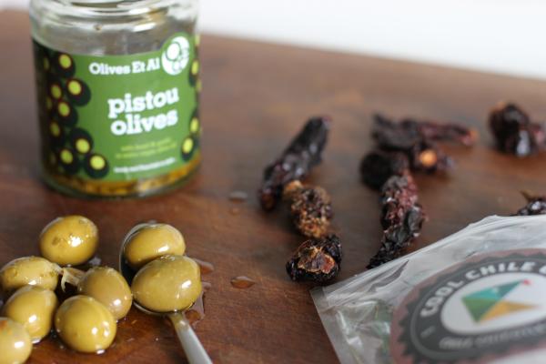 Brug oliven af høj kvalitet...