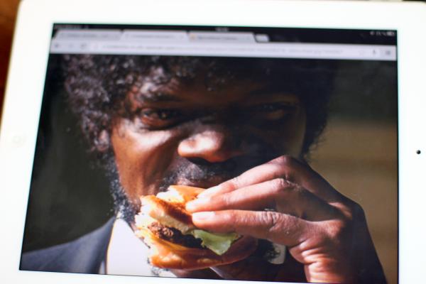 Movie Food Theme take one: Big Kahuna Burger