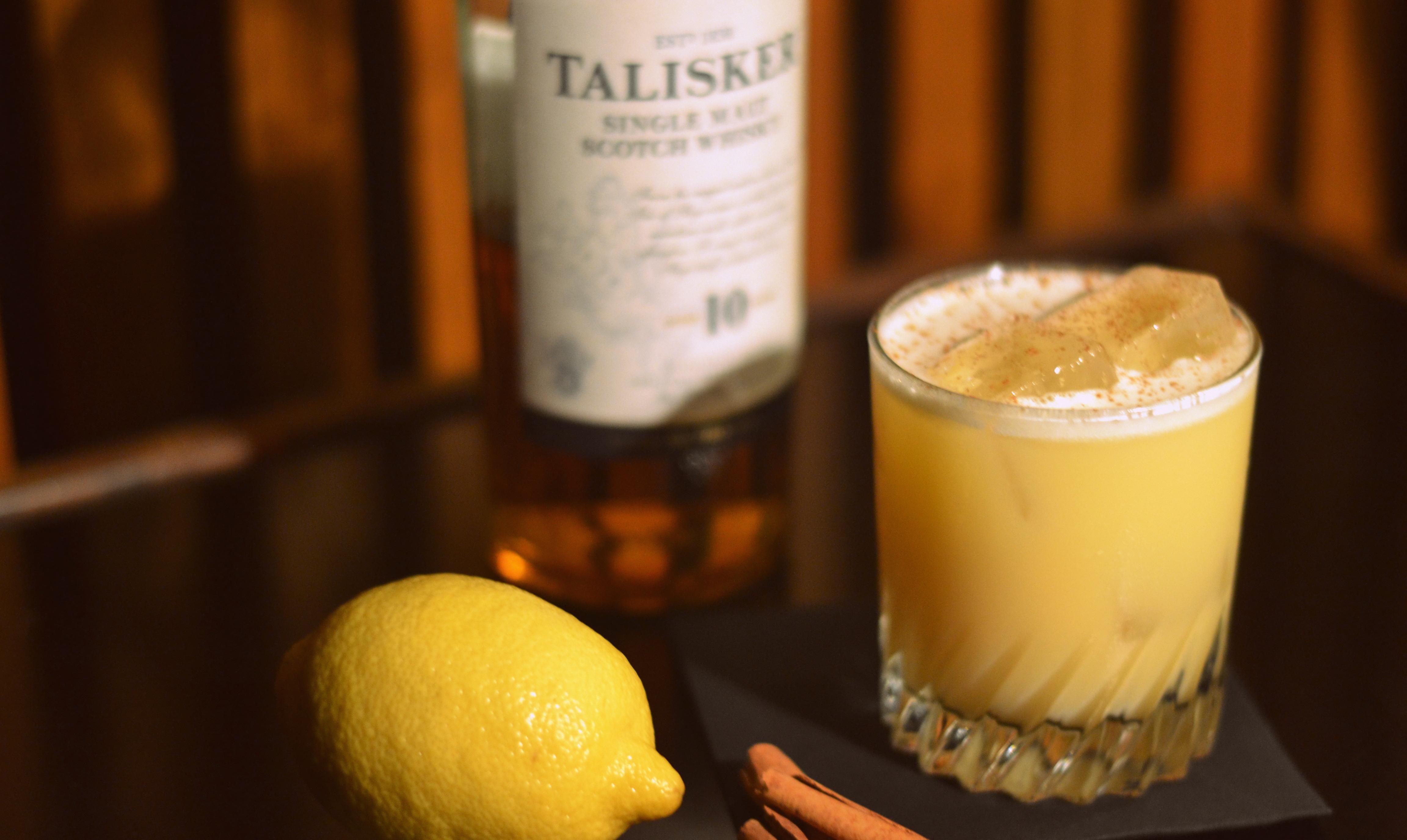 Cocktail-adventskalender: Cinnamon Sour