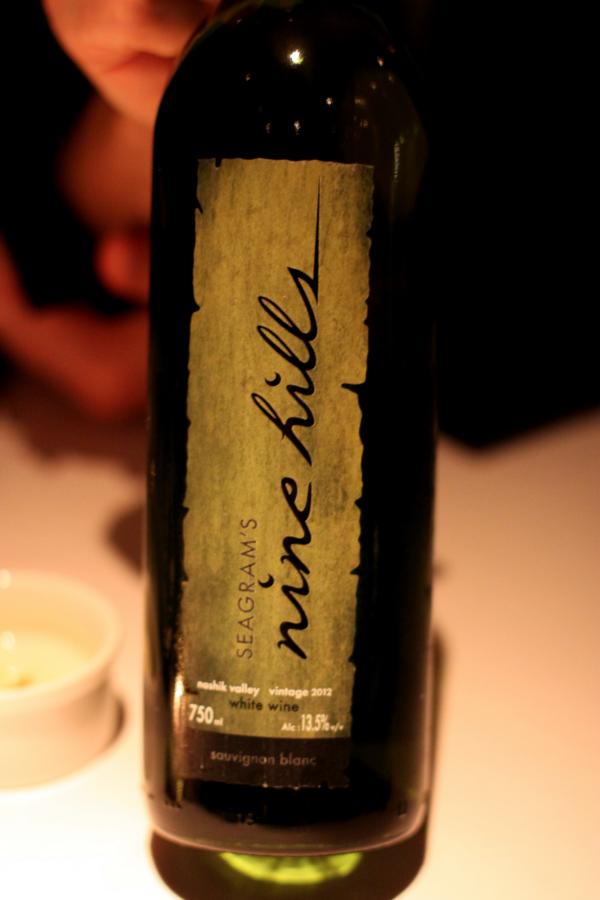 """Nine Hills som stod for den primære den af vores """"Flight of India Wine""""..."""