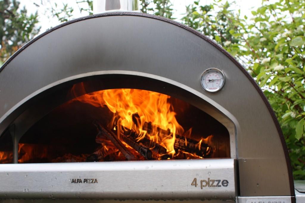 I regn og slud skal pizzaen ud...