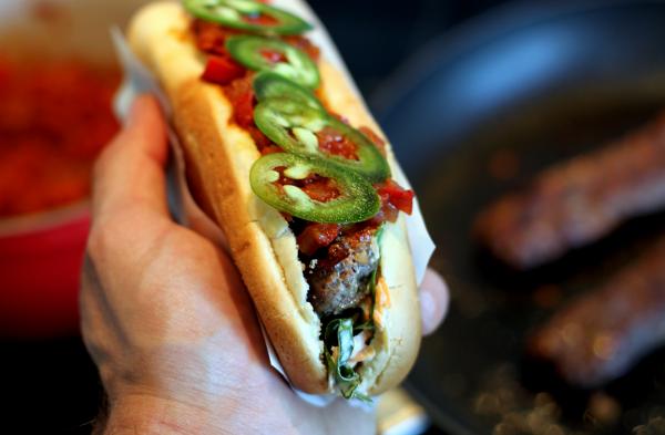 Chili-beefdog – en hyldest til USAs VM-hold