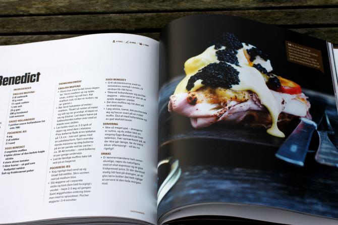 Bonusinfo: Den sorte friske trøffel var i overskud og så var den ret skabt...