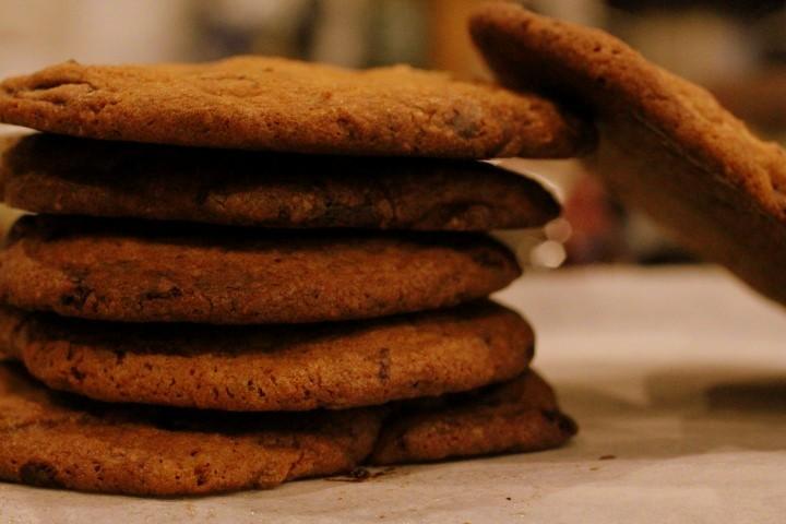 Triple Chocolate Cookies – bedre bliver det ikke