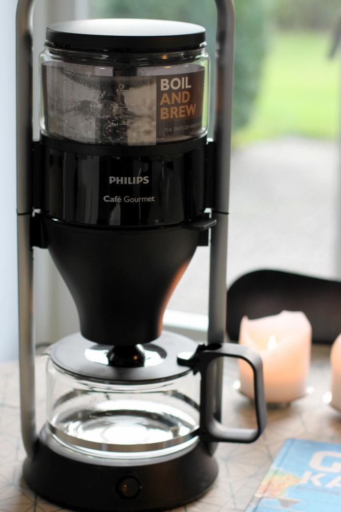 weekendtesten philips caf gourmet kaffemaskine. Black Bedroom Furniture Sets. Home Design Ideas