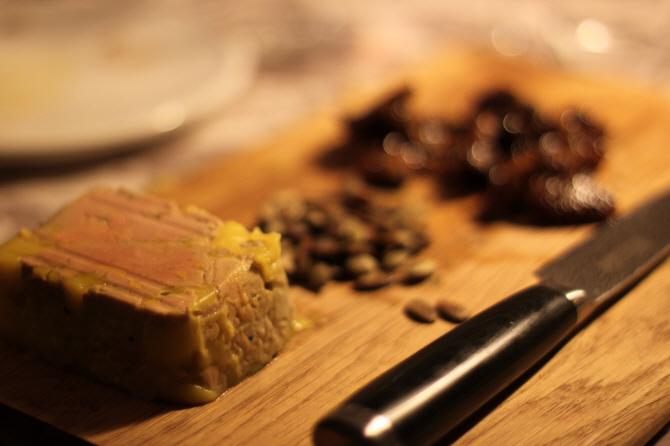 Nytårsmad: Foie gras terrine…