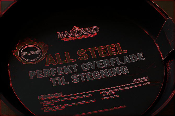 All Steel - Perfekt overflad til stegning...