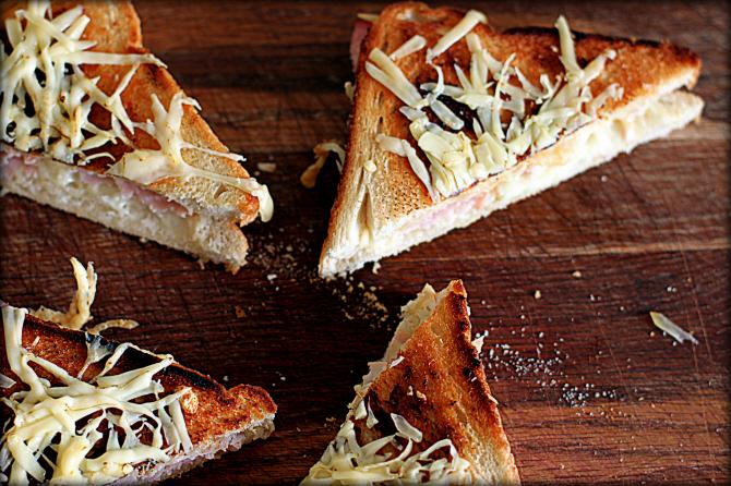 Grilled Cheese – eller Toast med masser af ost