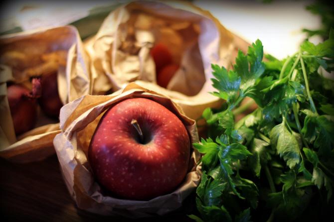 Frugt og grønt er jo ikke vores game på Gastromand - men nogle gange er det okay...
