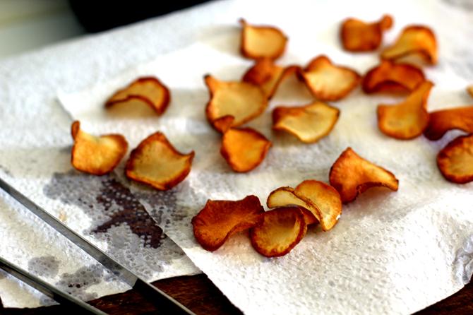 Jordskokke-chips...