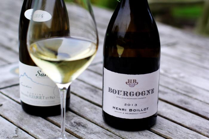 Henri Boillot... Vores vin til kyllingen...