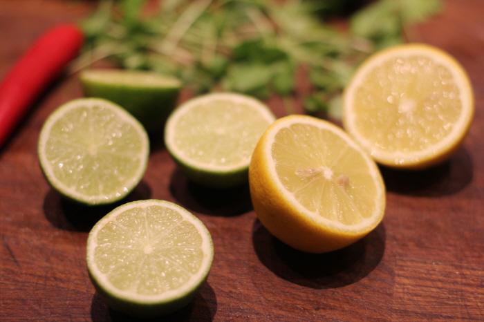Der skal bruges masser af citron og lime!