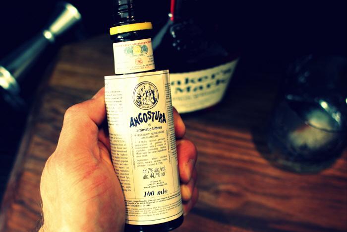 Den vigtigste ingrediens - Angostura!
