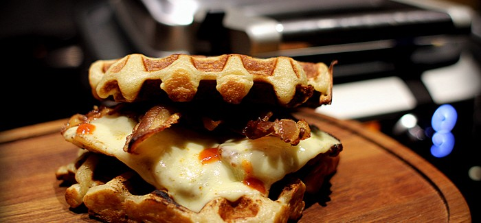 American Style: Chicken and Waffles…