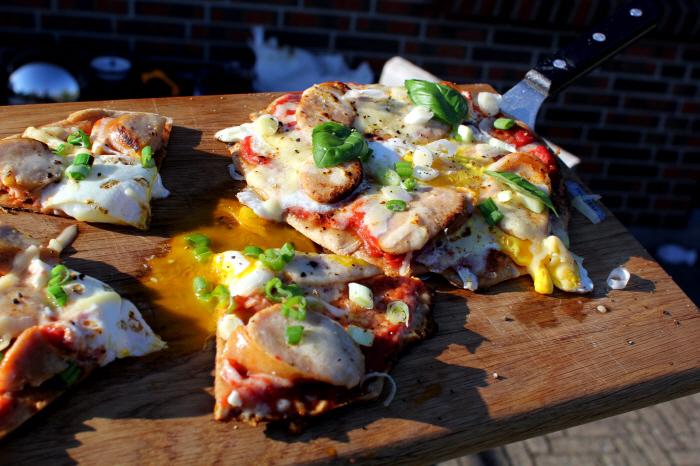 Summerbrunch: The English Breakfast Pizza