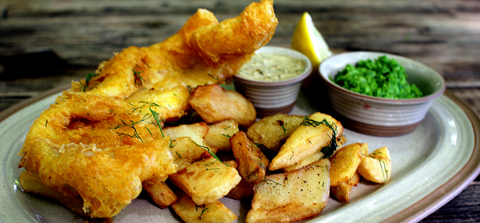 Fish 39 n 39 chips british style for Fish n style