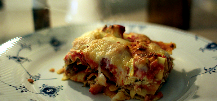 Food On Film – Take 10: Garfields Lasagne