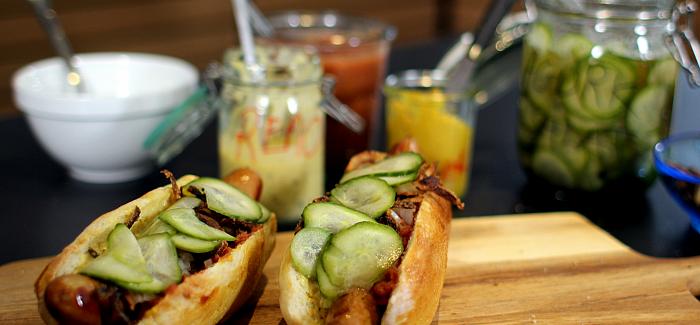 Hjemmelavede Hotdogs med det hele – The Gastromand way