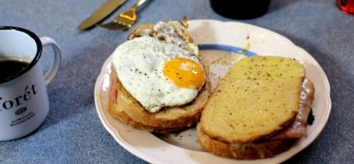 Gastromand laver morgenmad: Madame Croque