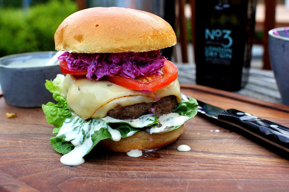 Hestons Summer Burger