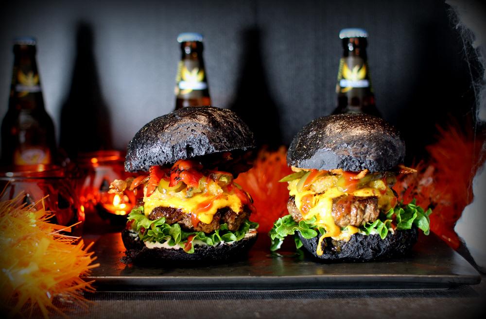 Den Ultimative Halloween Burger