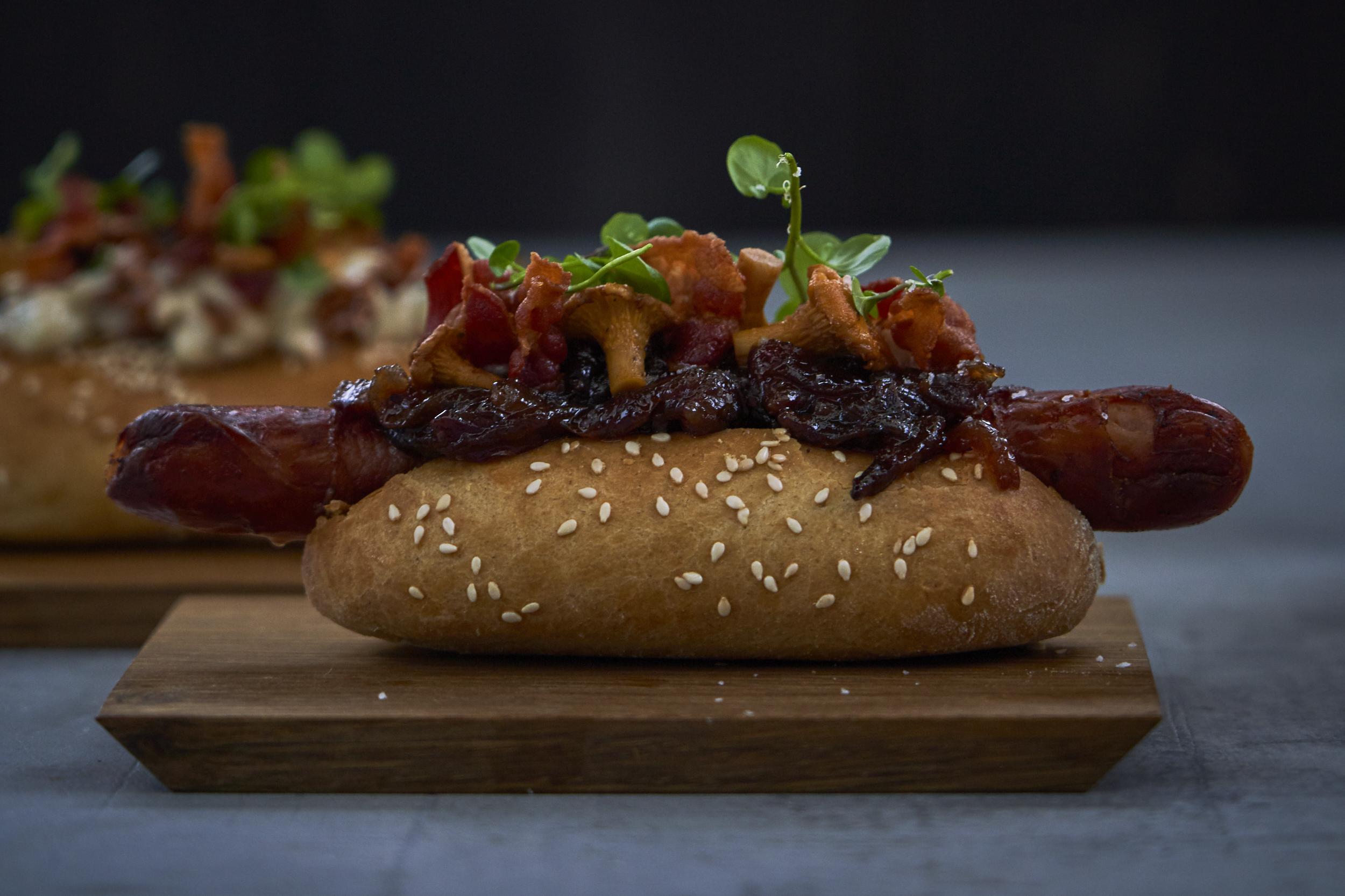 Årets baconret: Baconhotdoggen!